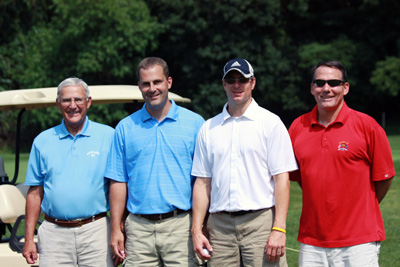 2nd place winners—Tome Keppel & Crew: Tom Keppel, Tommy Keppel, Mark Keppel, Dave Petrie