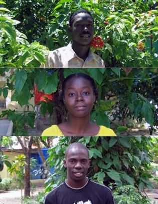 Haiti Scholarship Winners